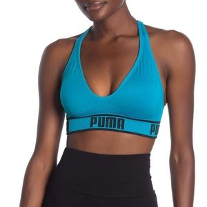 PUMA NWT Solstice Sports Bra Blue